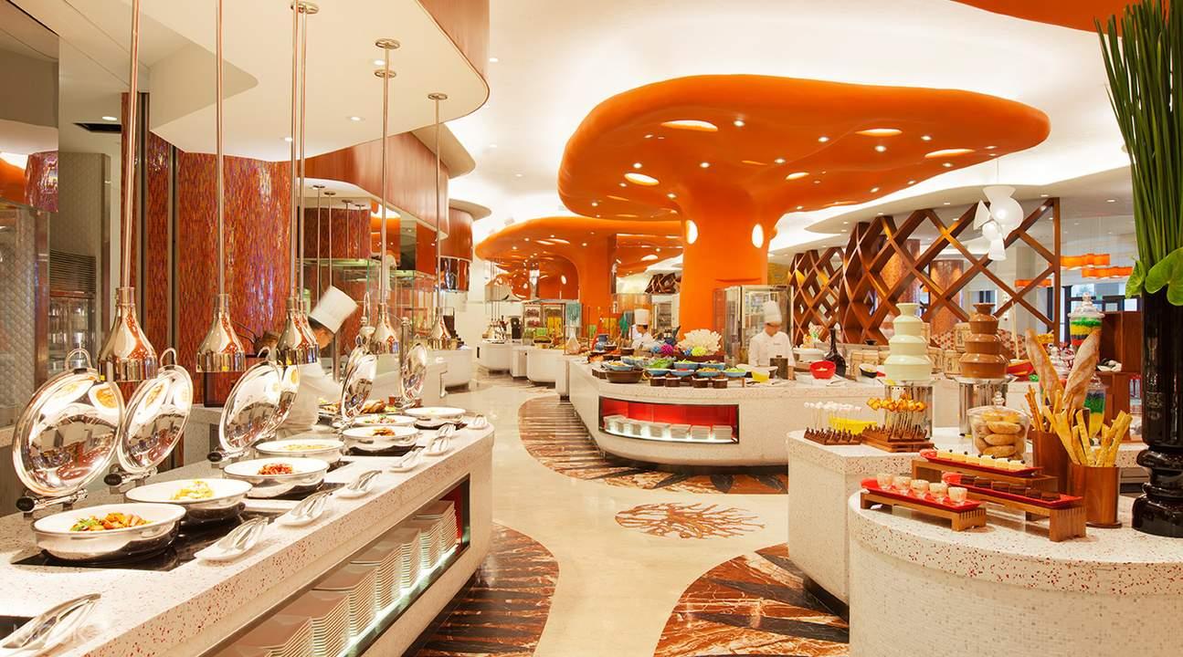 珠海长隆特色珊瑚酒店自助餐